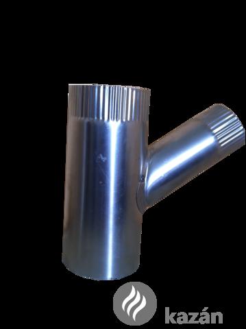 alu füstcső ág 132/76/45 szűkítő ág