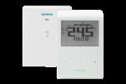 Siemens RDE100.1RFS programozható szobatermosztát