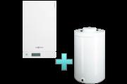 Viessmann Vitodens 100-W Touch 35 kW gázkazán, kondenzációs hőközpont Vitocell 100-W 100 L tárolóval EU-ERP