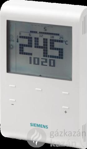 Siemens RDE100.1 programozható termosztát